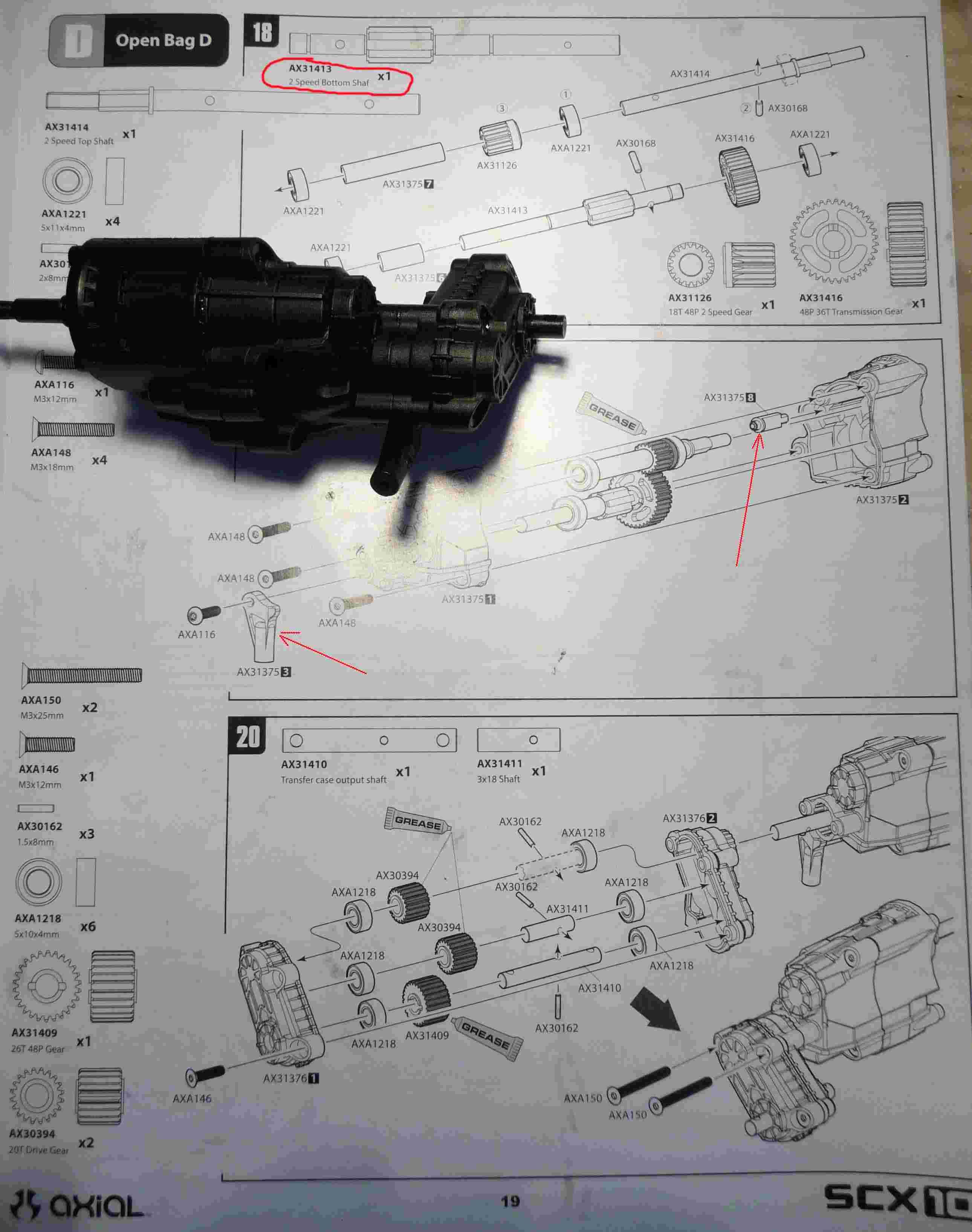 Montage SCX10 II Kit VS RTR : que vaut le SCX10 2 ? 4-tran13