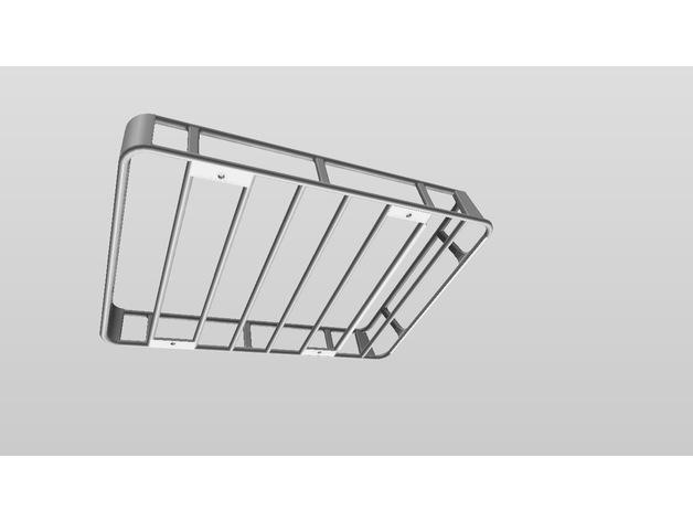 Galerie de toit 3D et Porte Bagage 3D pour Scale et Crawler 1/10 A07a6a10