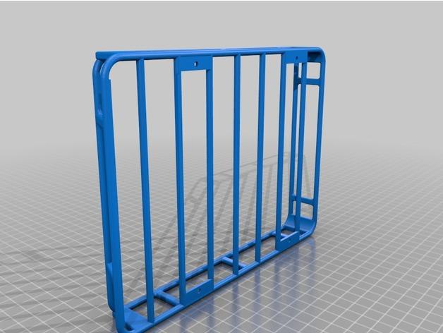 Galerie de toit 3D et Porte Bagage 3D pour Scale et Crawler 1/10 A9306010