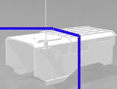 Camion Oshkosh HEMTT 1/10 6x6 3D : Spécial SVA 2018 - Page 3 Cabine10