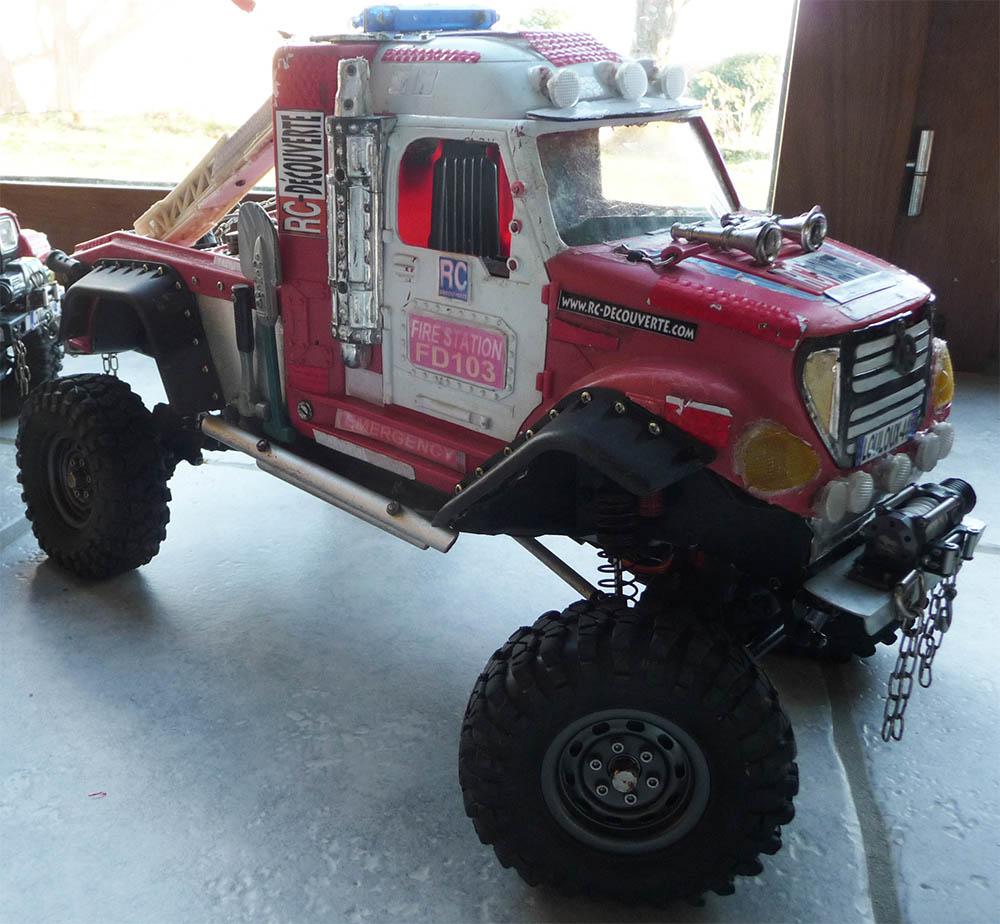 Mon camion de pompier SCFX RC Scale 1/10 Camion10