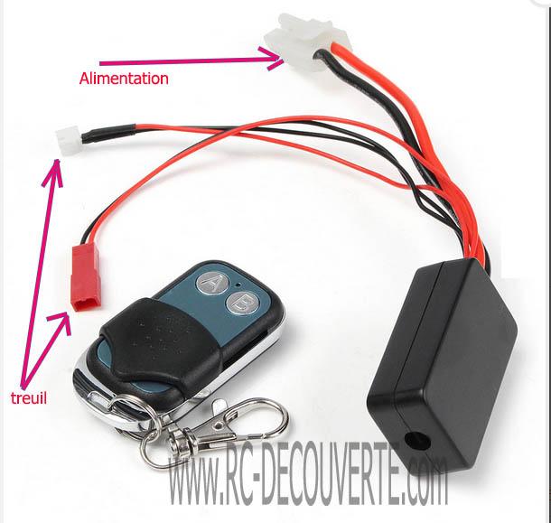 Comment brancher et utiliser controleur de Treuil avec télécommande Contro11