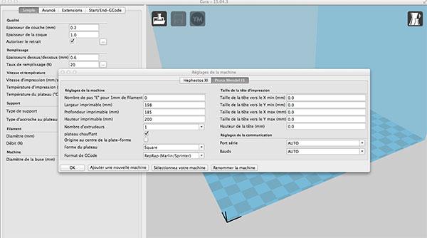 Anet A8 : Installation, Paramétrage et Configuration de mon Imprimante 3D - Page 4 Cura-r10