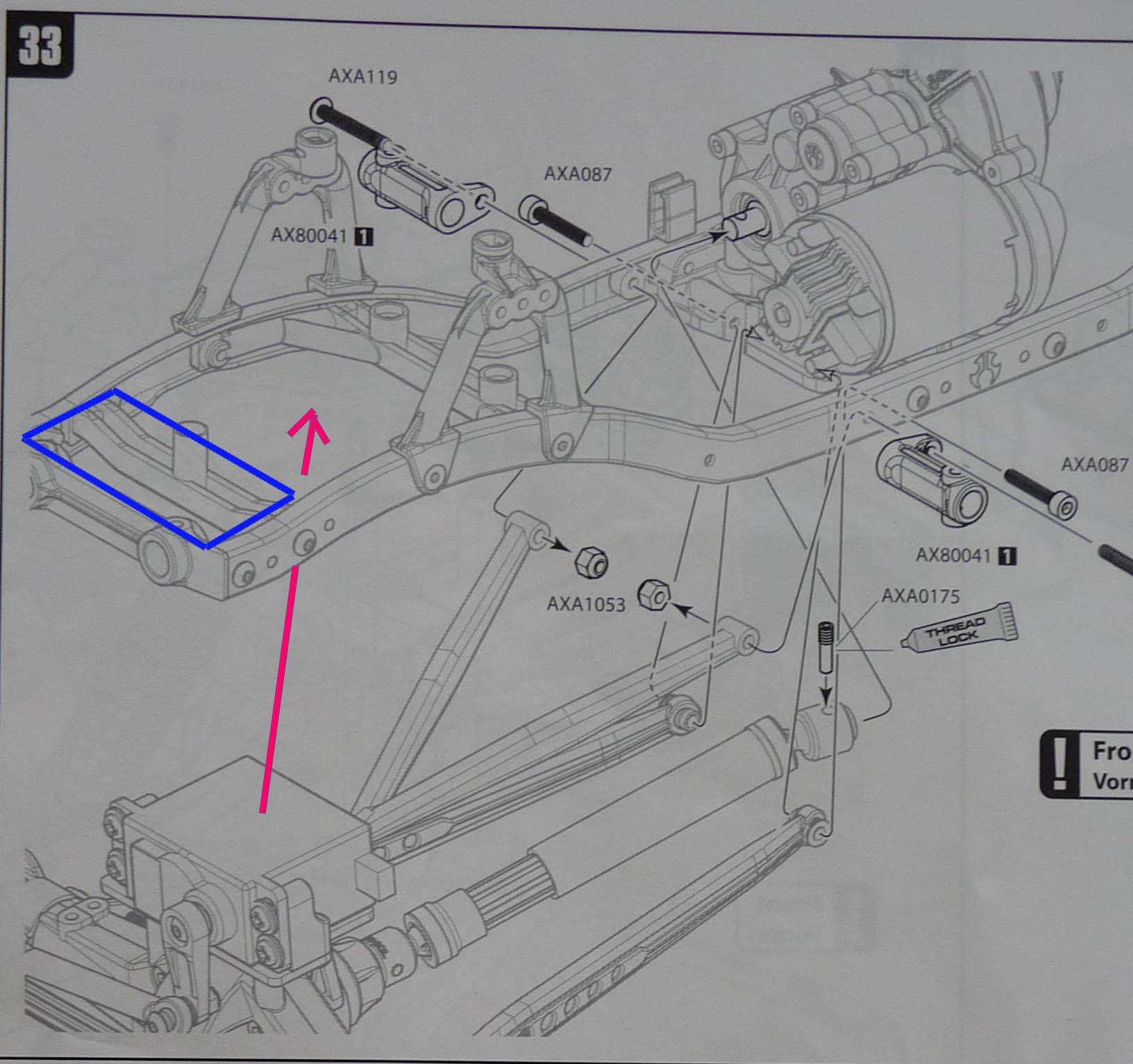 Améliorer le rayon de braquage d'un 6*6 : pont arrière directionnel - Page 2 Emplac10