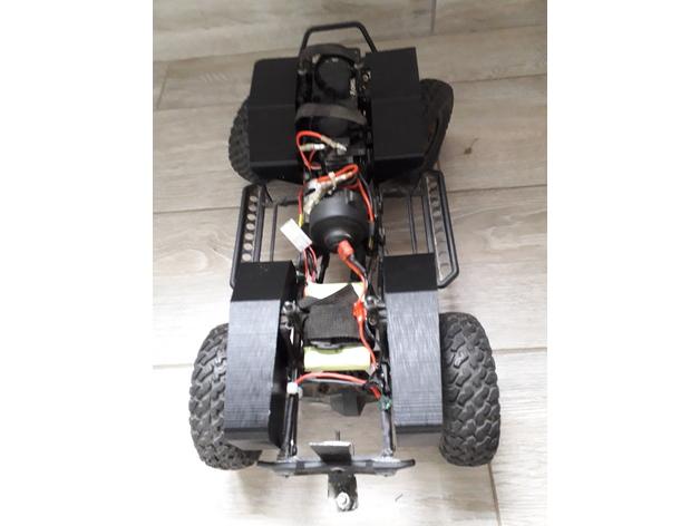 Garde boue 3D et de Passage de roue 3D pour Axial SCX10 II et Scx10 ancienne génération Garde-31