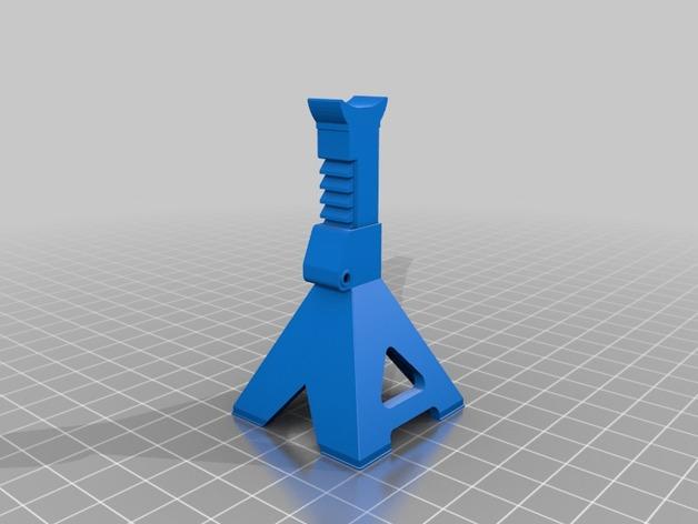 Chandelle 3D à hauteur réglable pour Scale et Crawler 1/10 Jack_s10