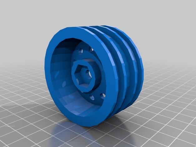 Jante 1.9 à coller en 3D pour Scale et Crawler 1/10 Llanta10