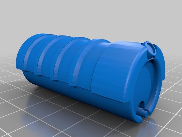 Réservoir à Carburant 3D et Réservoir à Eau 3D pour Scale et Crawler 1/10 M1-gra10