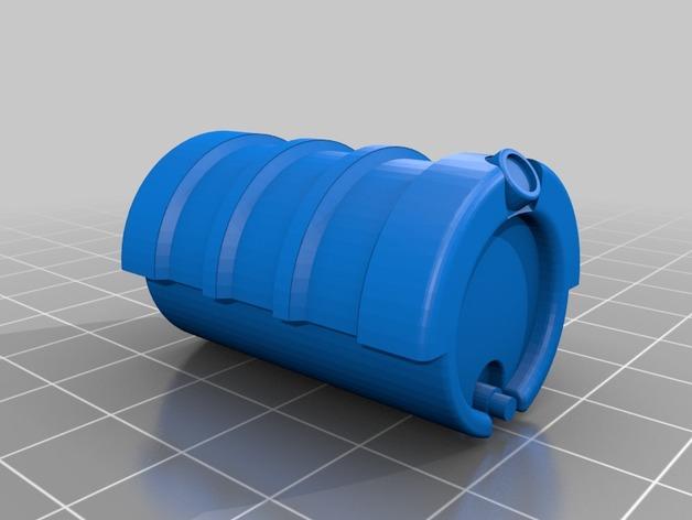 Réservoir à Carburant 3D et Réservoir à Eau 3D pour Scale et Crawler 1/10 M1-pet10