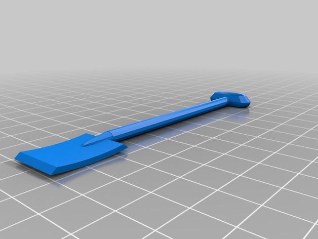 Pelle 3D pour Scale et Crawler 1/10 M110