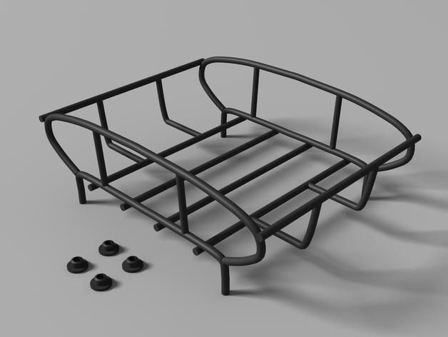 Galerie de toit 3D et Porte Bagage 3D pour Scale et Crawler 1/10 M11a11