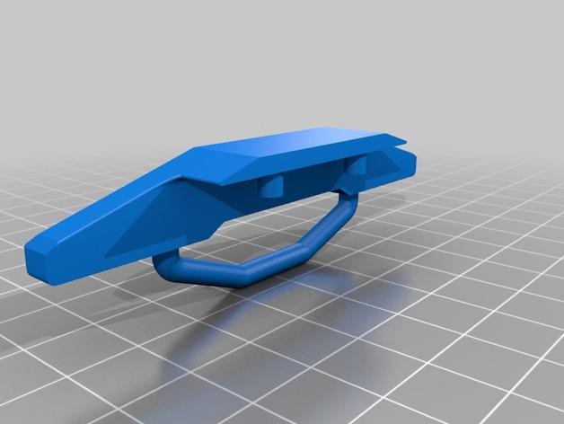 Parechoc 3D avec Attache Remorque 3D pour Scx10 et autres Scale et Crawler 1/10 M12b10