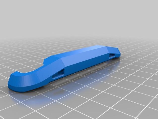 Parechoc 3D avec Attache Remorque 3D pour Scx10 et autres Scale et Crawler 1/10 M12d10