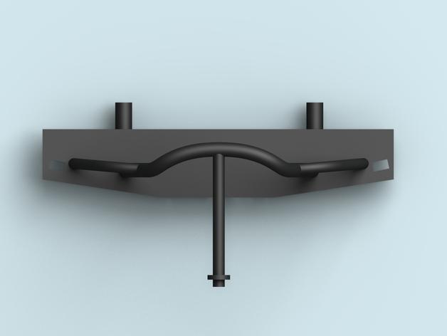 Parechoc 3D avec Attache Remorque 3D pour Scx10 et autres Scale et Crawler 1/10 M13b10