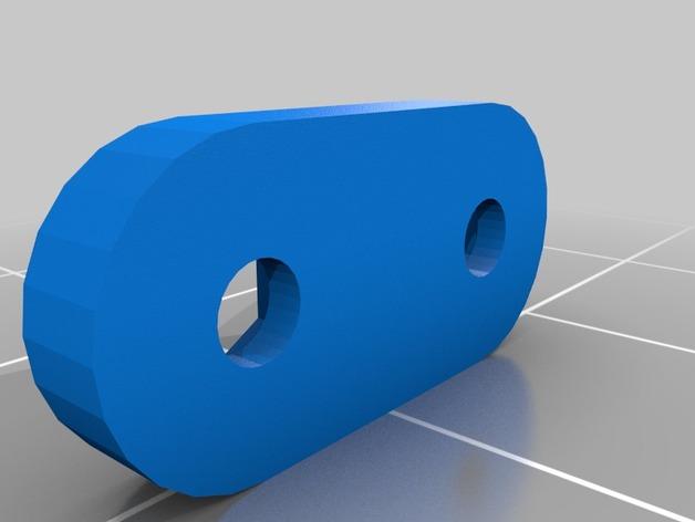 Parechoc 3D avec Attache Remorque 3D pour Scx10 et autres Scale et Crawler 1/10 M14e10