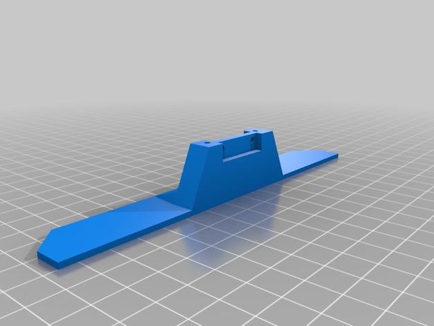 Parechoc 3D avec Attache Remorque 3D pour Scx10 et autres Scale et Crawler 1/10 M16b10