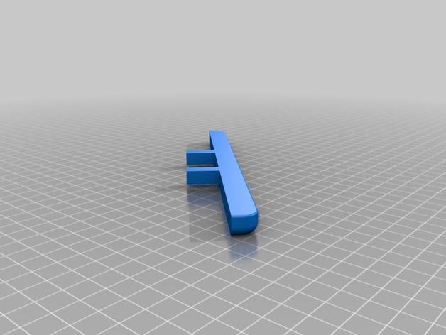 Parechoc 3D avec Attache Remorque 3D pour Scx10 et autres Scale et Crawler 1/10 M17b10