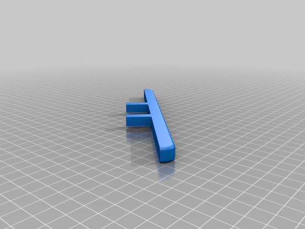 Parechoc 3D avec Attache Remorque 3D pour Scx10 et autres Scale et Crawler 1/10 M17c10