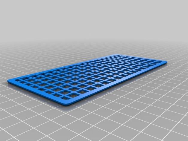 Grille de Protection de Vitrage 3D pour Scale et Crawler 1/10 M1a-gr10