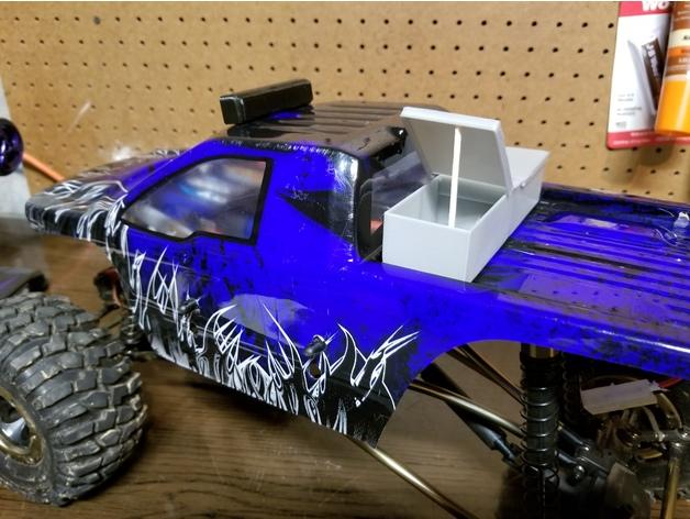 Boite à outils 3D ou boitier électronique 3D pour Scale et Crawler 1/10 M1a17