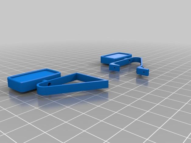 Rétroviseur 3D et Miroir 3D pour Scale et Crawler 1/10 M1a21