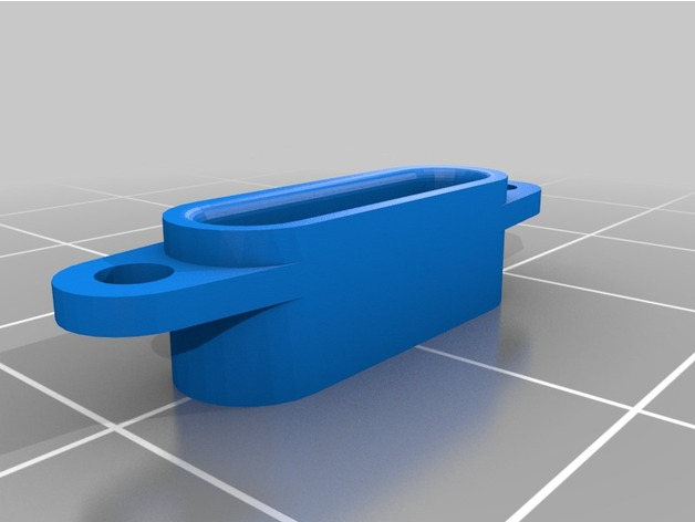 Sortie de Câble de Treuil de Parechoc 3D pour Scale et Crawler 1/10 M1a26