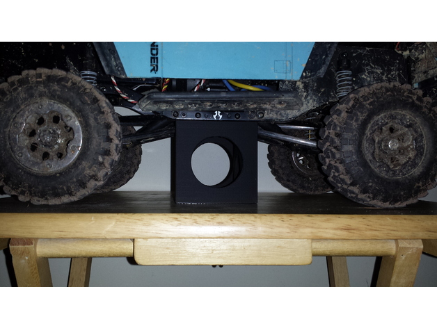 Trépied de stockage surélevé 3D pour Scale et Crawler 1/10 M1a27