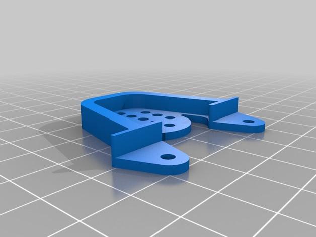 Support Fixation Suspensions ou Amortisseur 3D Réglable pour scx10 et tout scale et crawler 1/10 M1a38