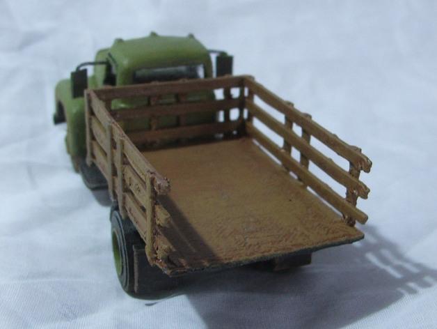 Carrosserie 3D Camion 1954 international 4x4 pour scale et crawler 1/10 M1a47