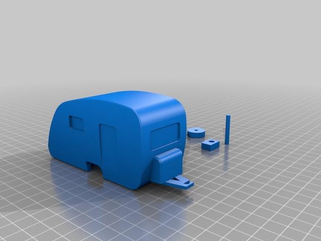 Caravane 3D pour Scx10 et tout Scale et Crawler 1/10  M1a49