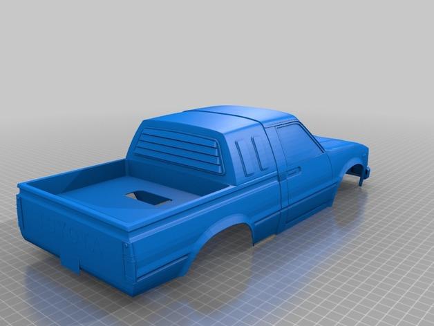 Carrosserie 3D Toyota Trail Finder 4x4 pour Scale et Crawler 1/10 M1a50