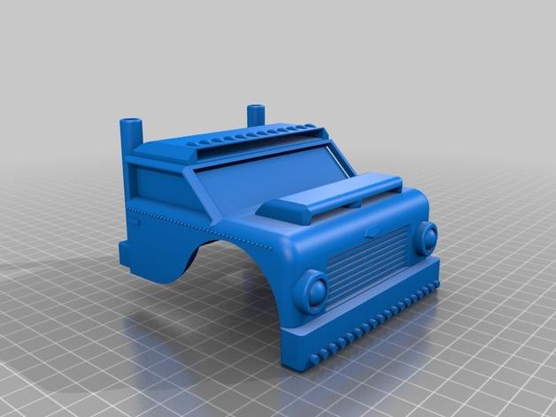 Carrosserie 3D Camion Rat Rod Truck pour Scale et Crawler M1a52