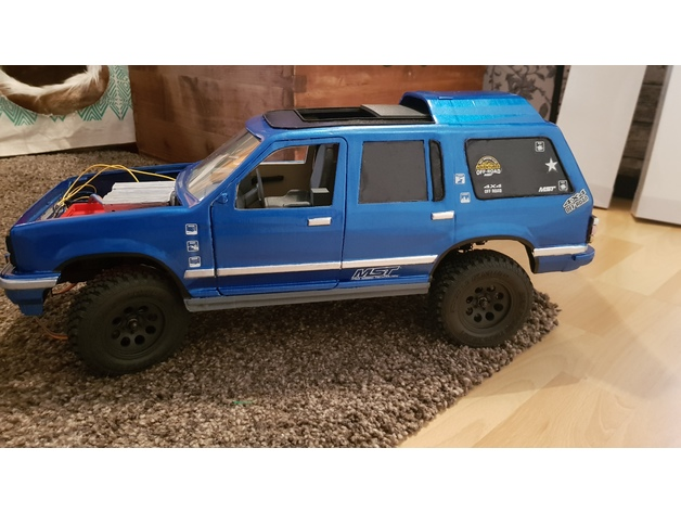 Carrosserie 3D Ford Explorer 4x4 pour scale et crawler 1/10 M1a71