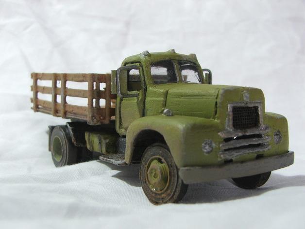 Carrosserie 3D Camion 1954 international 4x4 pour scale et crawler 1/10 M1aa10