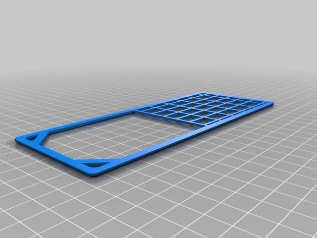 Grille de Protection de Vitrage 3D pour Scale et Crawler 1/10 M1b-de10