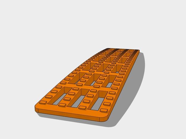 Rampe de Désensablement 3D pour Scale et Crawler 1/10 M1b11