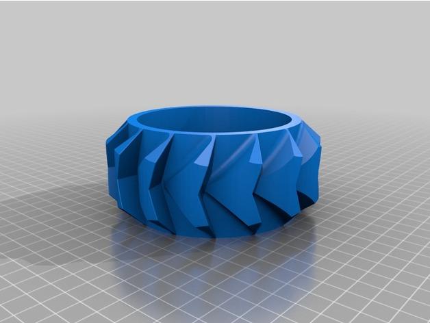 Pneu Neige avec Jante 3D pour Scale et Crawler 1/10 M1b24