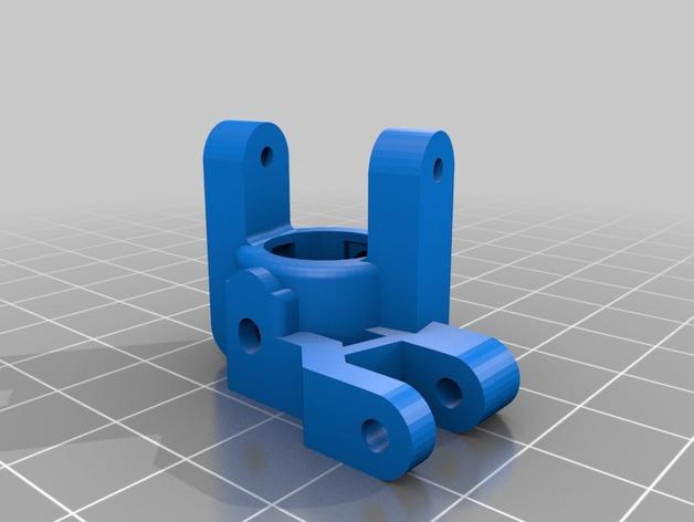 Barre Panhard 3D et Support Fixation Barre Panhard 3D pour Scx10 et tout Scale et Crawler 1/10 M1b30