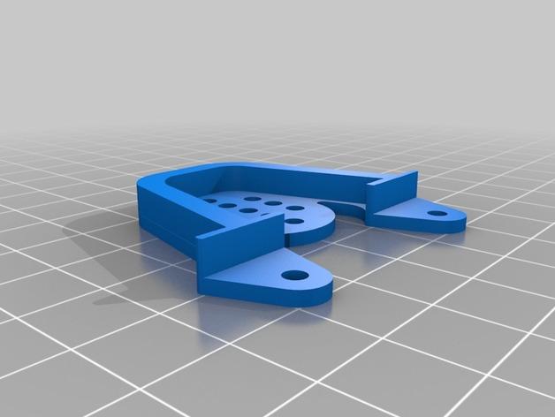 Support Fixation Suspensions ou Amortisseur 3D Réglable pour scx10 et tout scale et crawler 1/10 M1b31