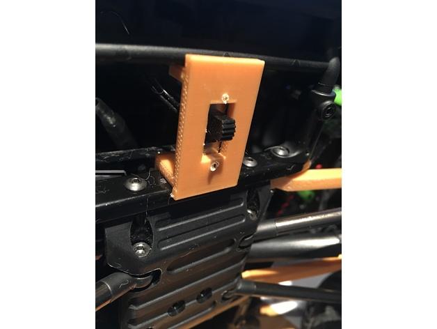 Support Interrupteur 3D pour Scx10 et tout scale et crawler 1/10 M1b33