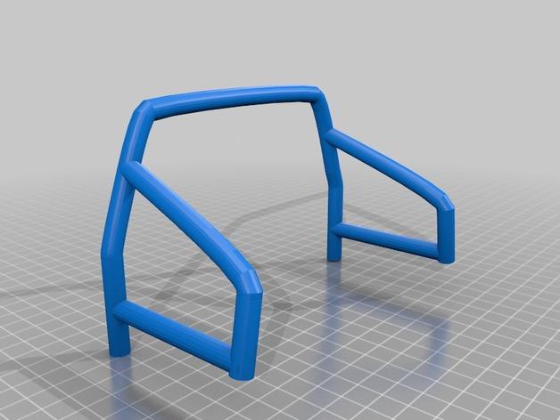 Cage de carrosserie 3D pour Scale et Crawler 1/10 M1b44
