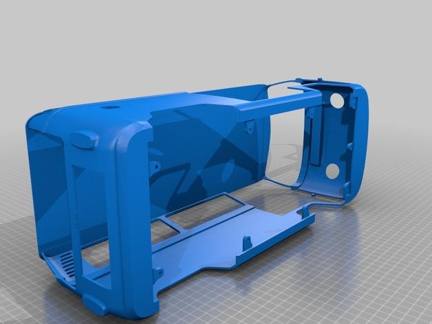 Carrosserie 3D Volkswagen Kleinbus Type 2 pour scale et crawler 1/10 M1b47