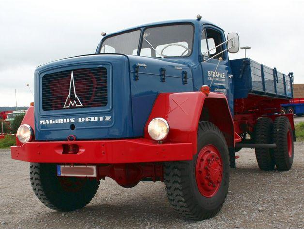 Carrosserie 3D Camion Magirus Deutz 1967 pour scale et crawler 1/10 M1b52