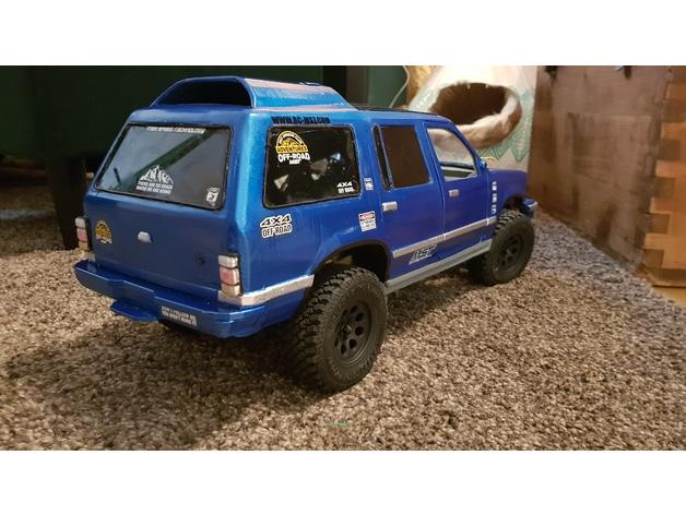 Carrosserie 3D Ford Explorer 4x4 pour scale et crawler 1/10 M1b54