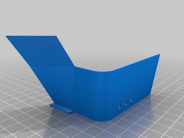 Garde Boue 3D et Passage de Roue 3D pour Scale et Crawler 1/10 M1c11