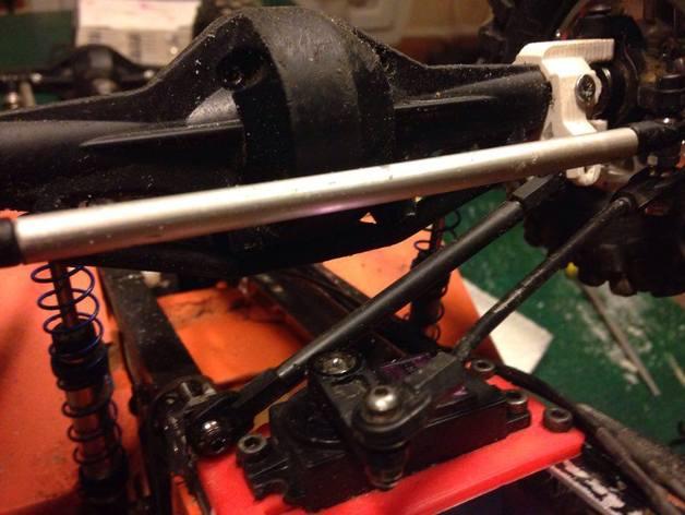 Barre Panhard 3D et Support Fixation Barre Panhard 3D pour Scx10 et tout Scale et Crawler 1/10 M1c16