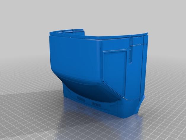 Carrosserie 3D Toyota Trail Finder 4x4 pour Scale et Crawler 1/10 M1c24