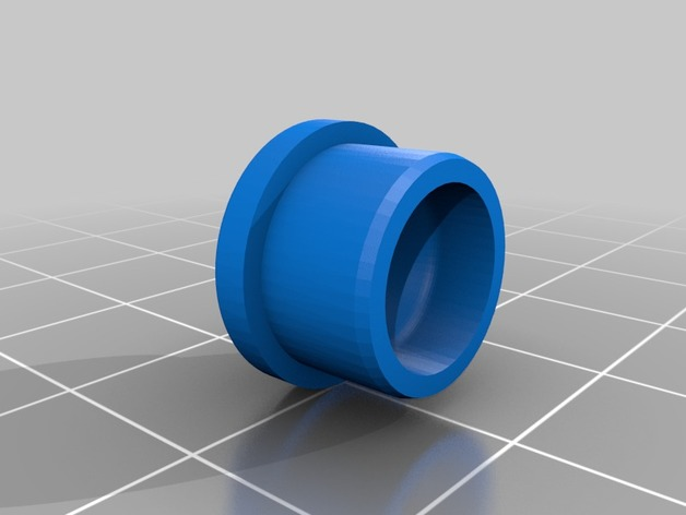 Pneu 3D de 44mm et jante pour Remorque de Scale et Crawler M1d12