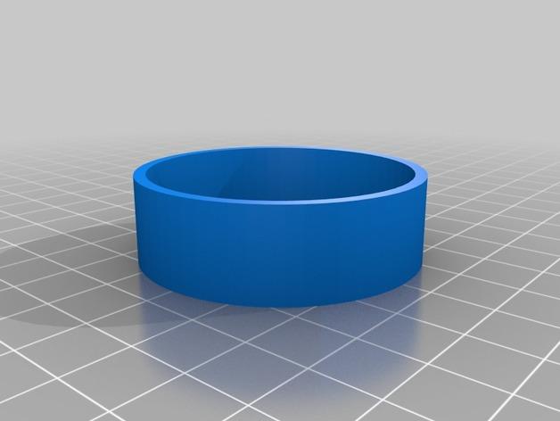 Pneu 3D de 44mm et jante pour Remorque de Scale et Crawler M1e11