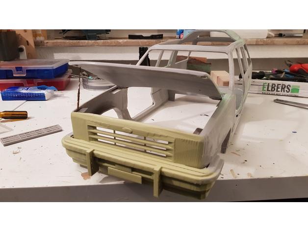 Carrosserie 3D Ford Explorer 4x4 pour scale et crawler 1/10 M1e14
